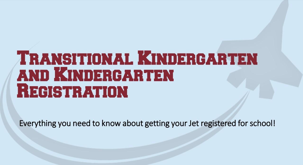TK and Kindergarten Registration Information