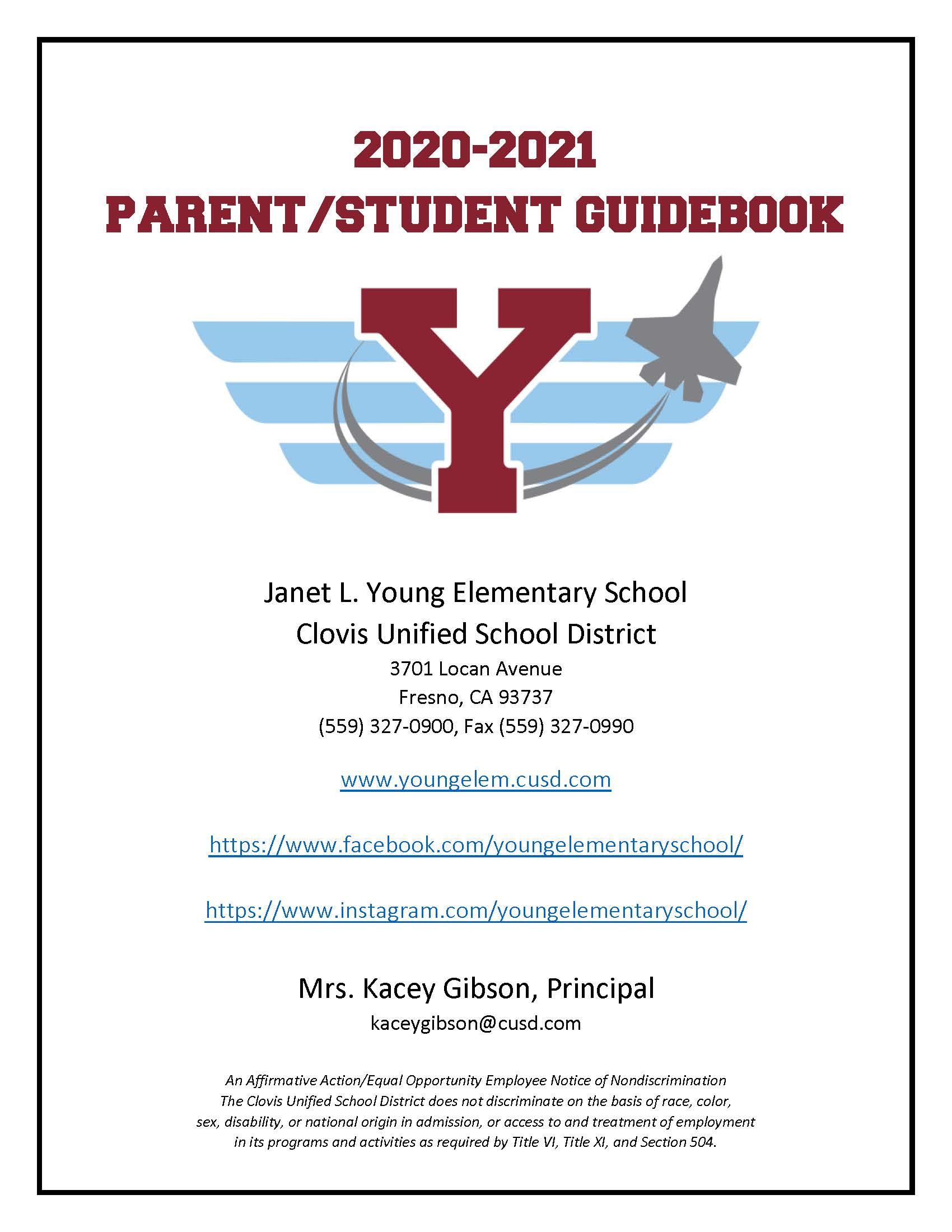 2020-21 YES Parent Handbook